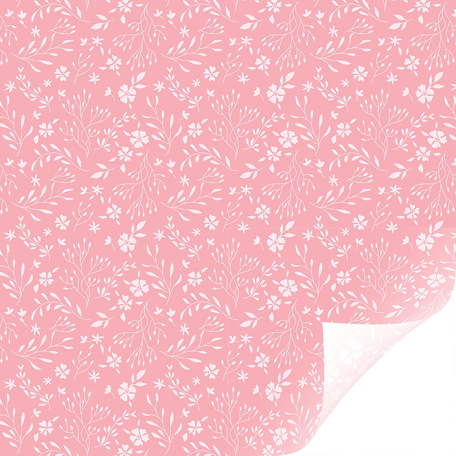 In Bloom Pink Cricut Patterned Iron On