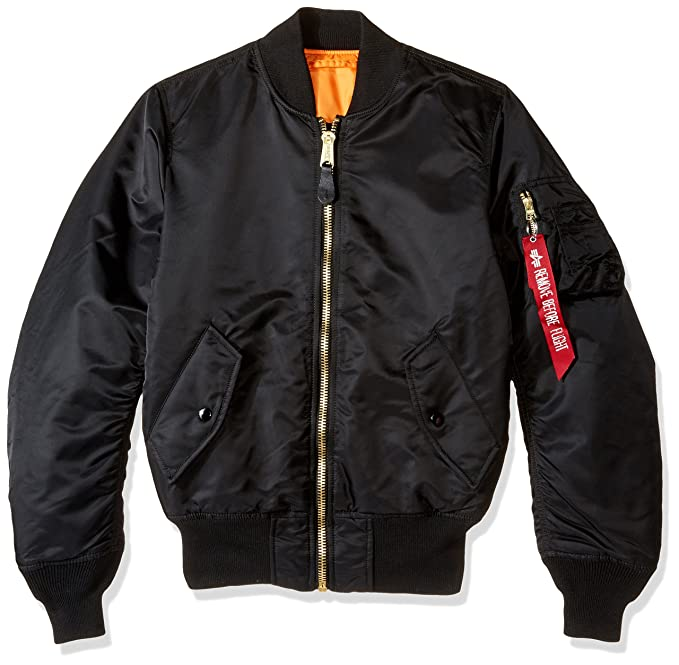 Ff Collar Bomber Jacket Black