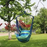 Sorbus Hanging Rope Hammock Chair Swing Seat for