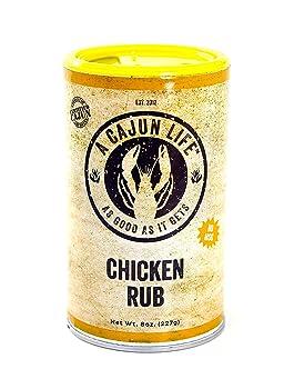 A Cajun Life 8-ounce Seafood BBQ Rub