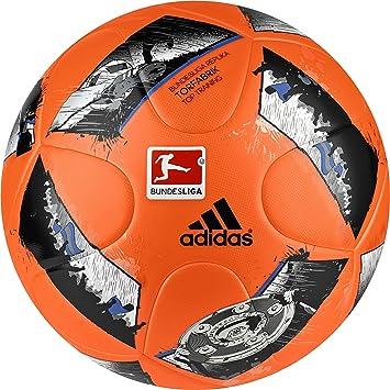 adidas Men Torfabrik DFL Top Training Ball - Solar Orange/Blue/Black, Size