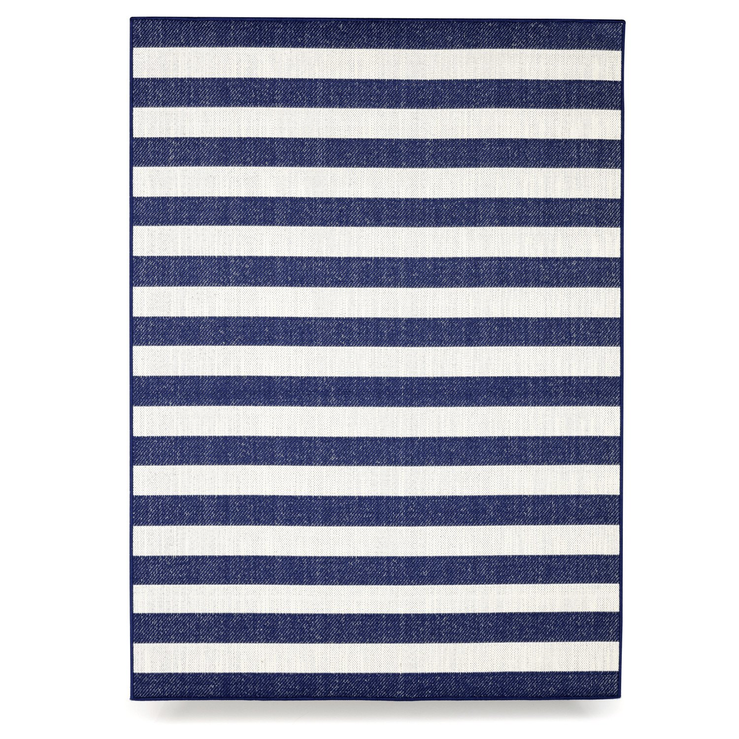 Budge Naples Outdoor Patio Rug, RUG057RB2 (5' Long x 7' Wide, Royal Blue)