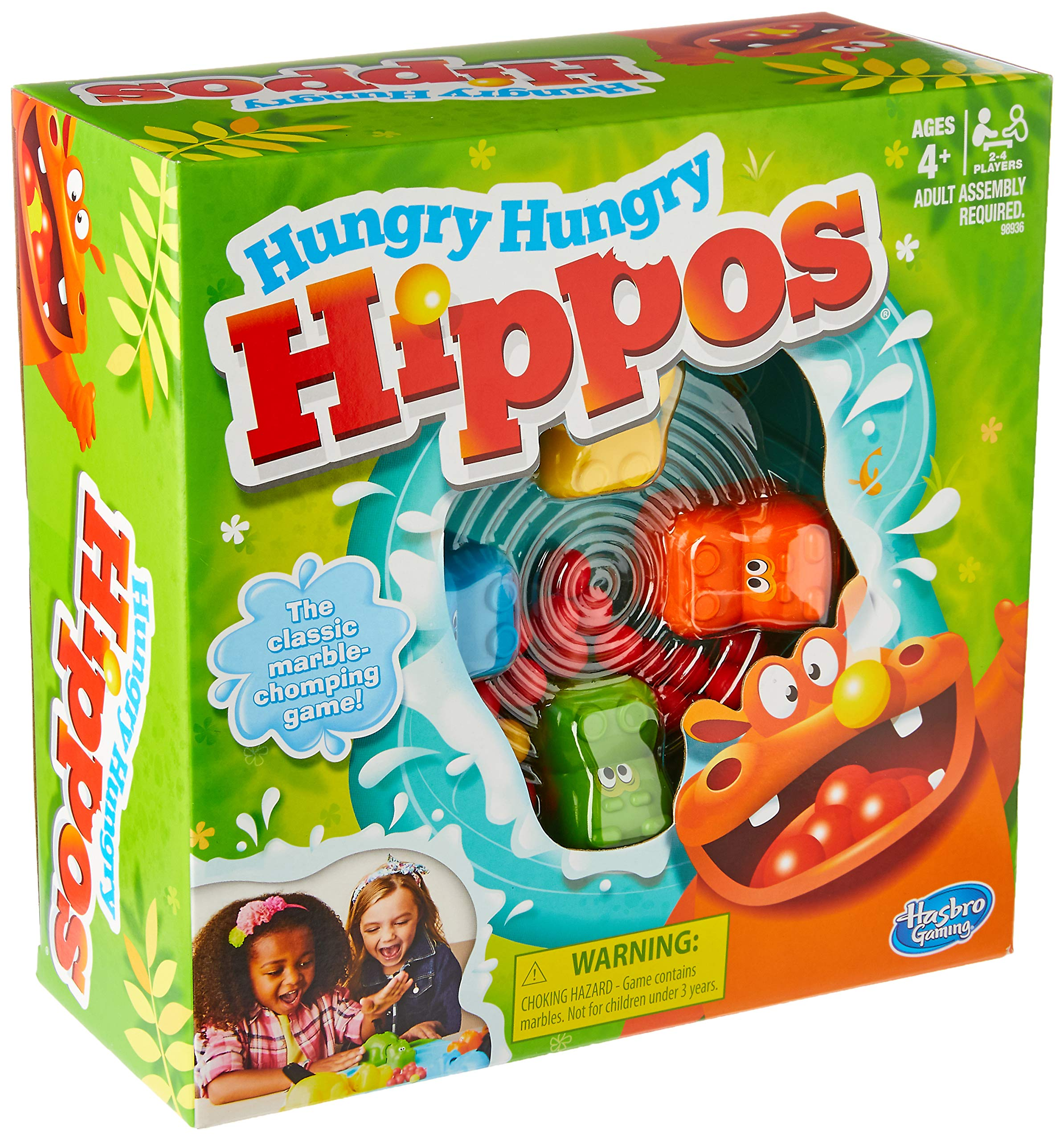 Hasbro Gaming Elefun & Friends Hungry Hungry Hippos Game