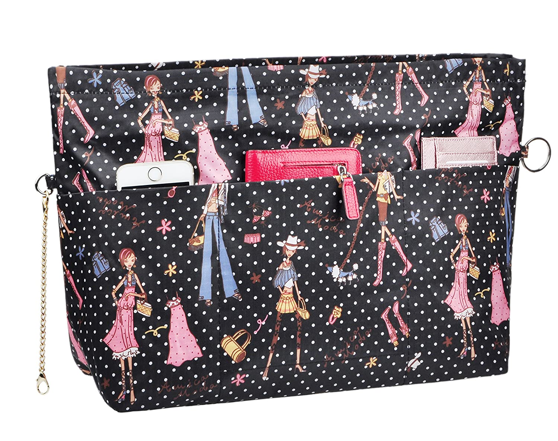 Vercord Handbag Purse Insert Organizers Extra Thick Large Travel Handbag Organizer Fits Neverfull MM Beauty SWSNB-064-Beauty