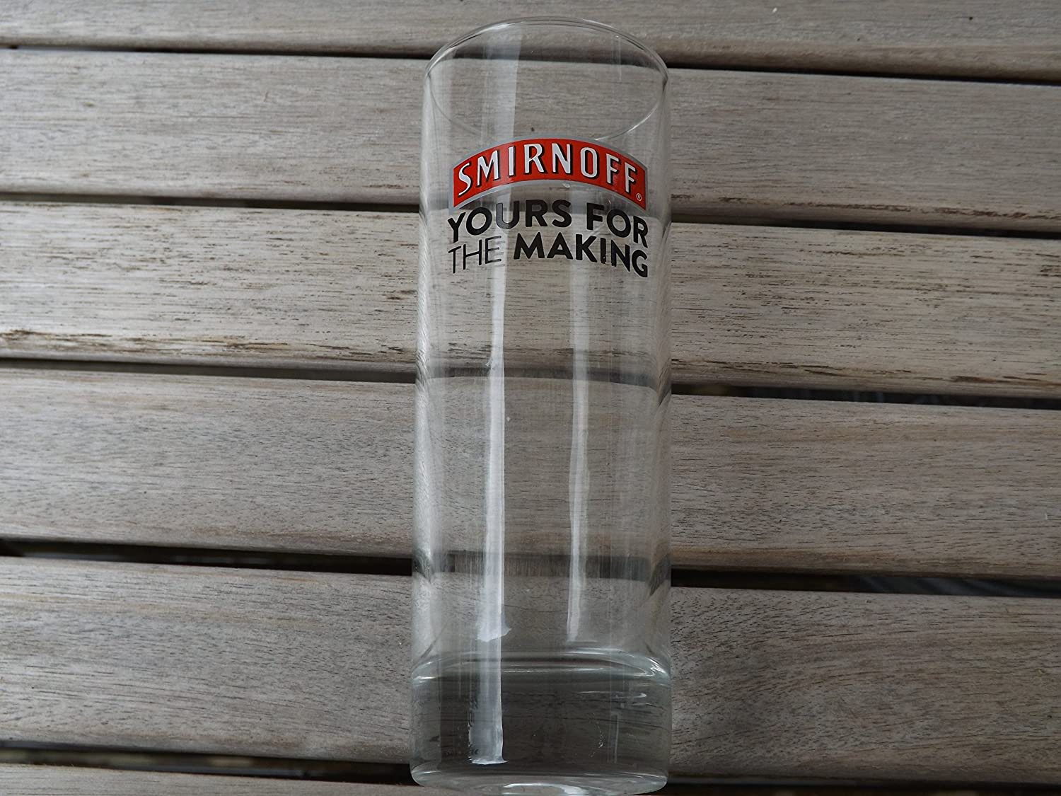 SMIRNOFF TALL GLASS YOURS FOR THE MAKING