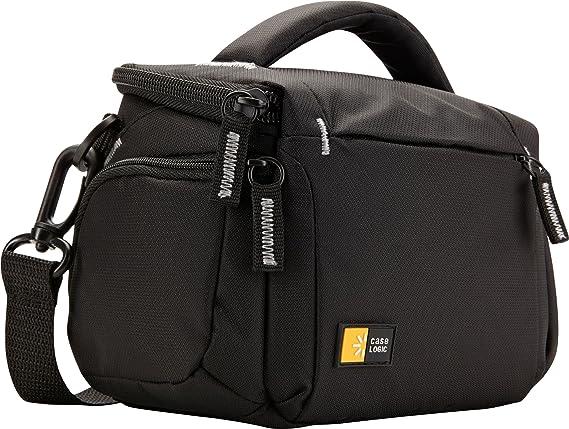 Case Logic TBC 405 Compact System/Hybrid/Camcorder Kit Bag  Black  Camera Cases