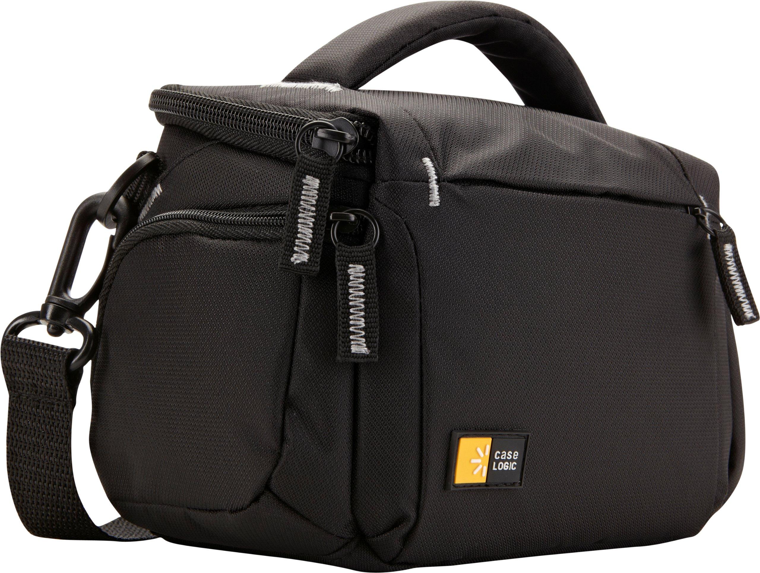 Case Logic TBC-405 Compact System/Hybrid/Camcorder Kit Bag (Black) by Case Logic