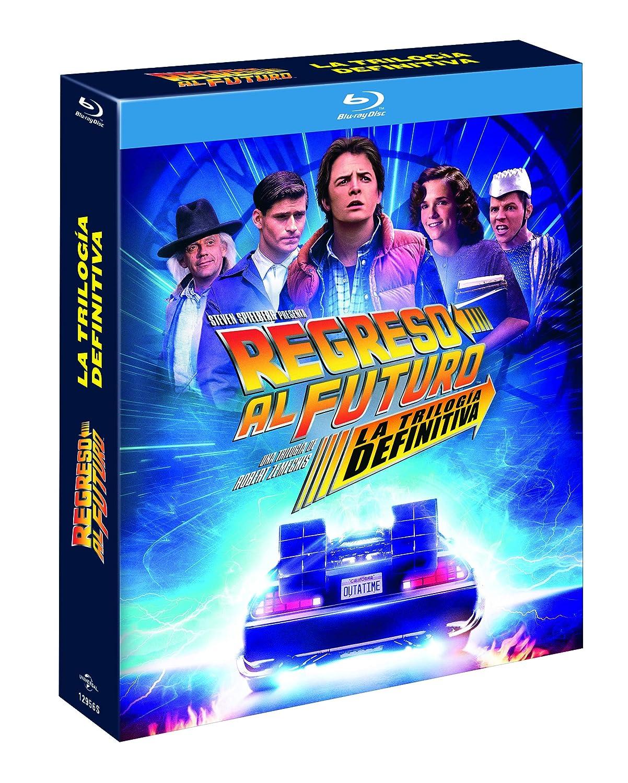 REGRESO AL FUTURO 1-3 (ED. 35 ANIVERSARIO DIGIPACK) (4 DISCOS) (BD) [Blu-ray]