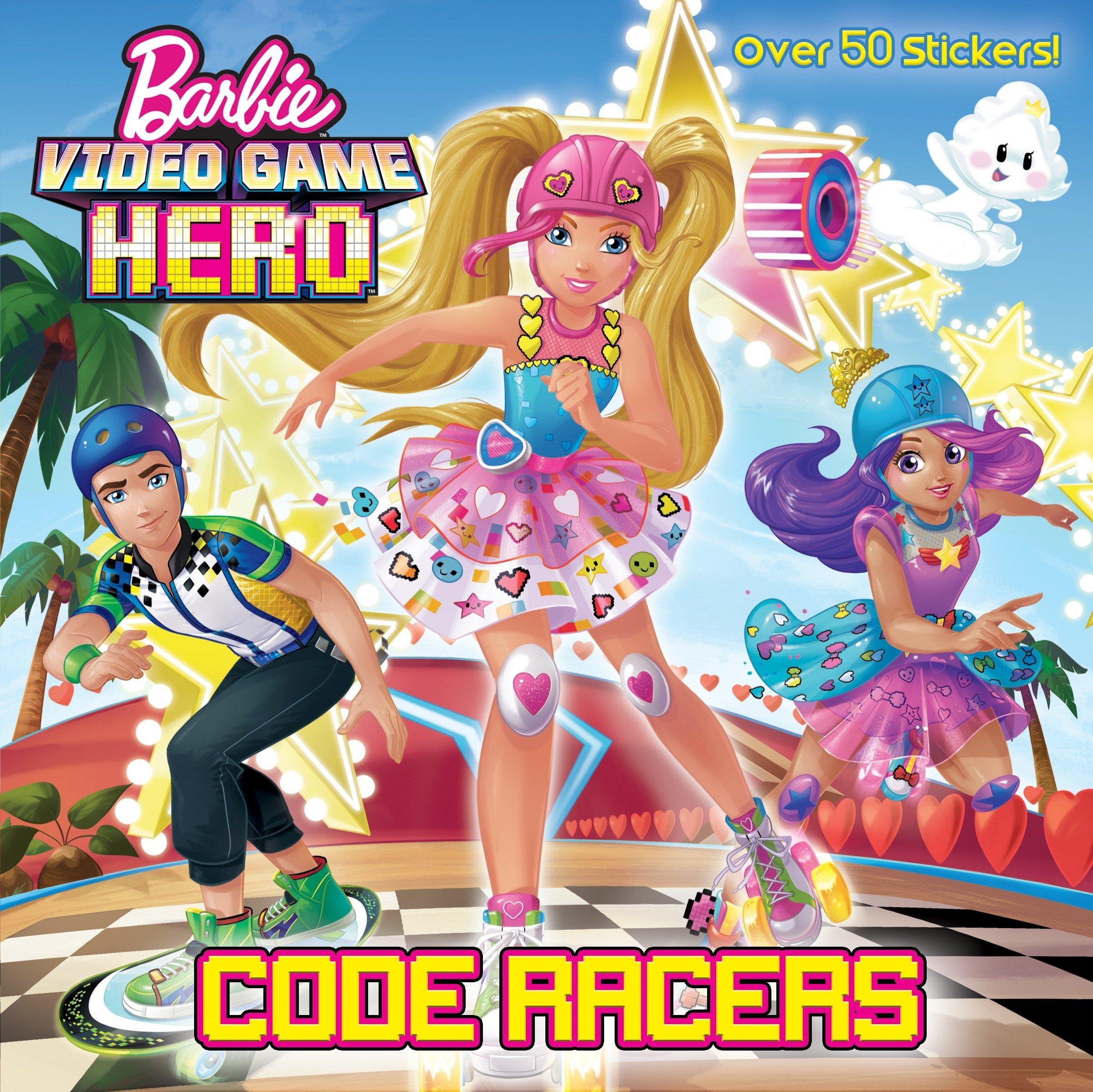 Read Online Code Racers (Barbie Video Game Hero) (Pictureback(R)) pdf