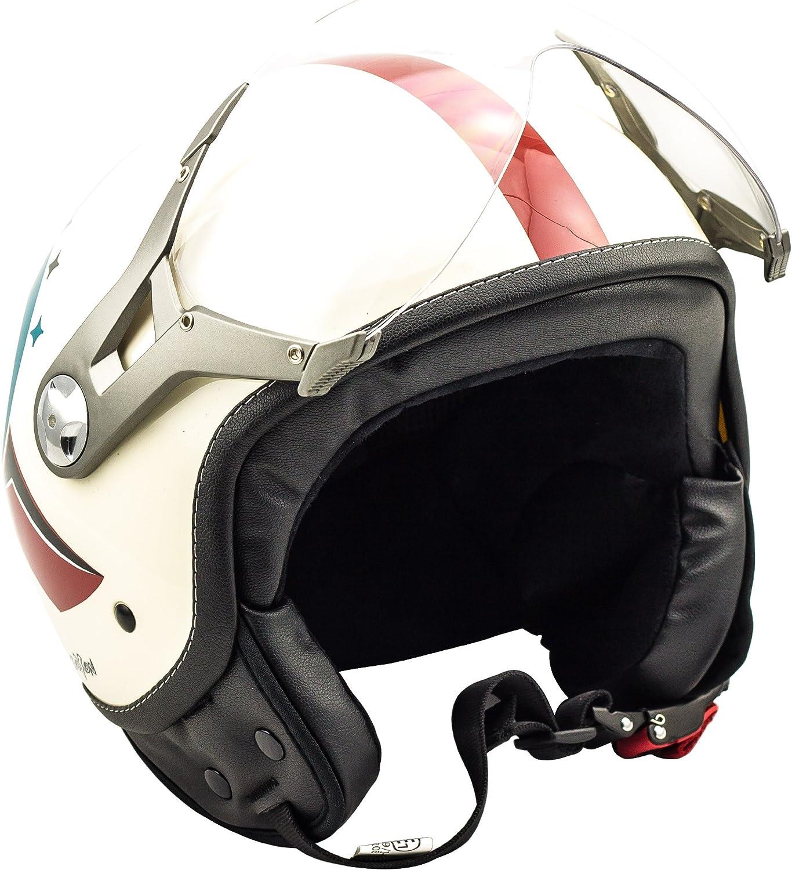 Soxon SP-325 Casque Moto Multicolore//Couleur XS 53-54cm