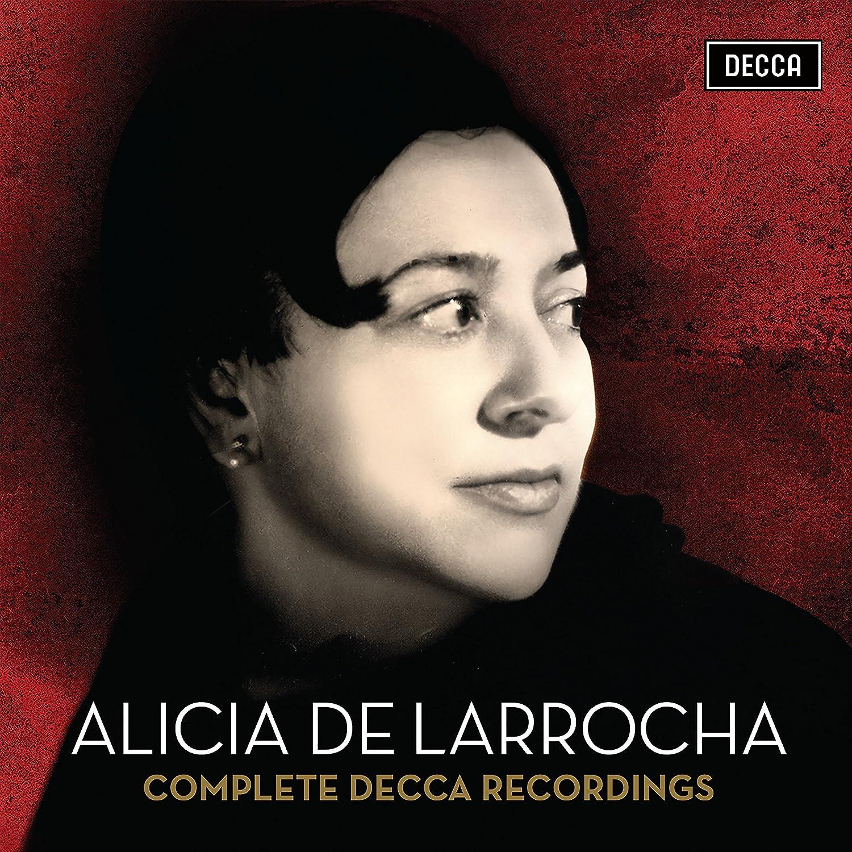 Alicia De Larrocha: Grabaciones Completas En Decca - Edición Limitada: Alicia De Larrocha: Amazon.es: Música