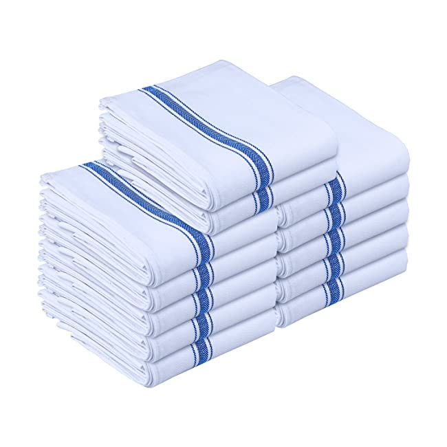 Kitchen Towels - Dish Cloth (12 Pack) - Machin...