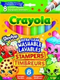 Crayola Shopkins Stamper Washable Markers (8 Count)