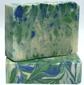 Jonathan Kent Goats Milk Soap Wild Meadow Blackberry 2 BAR Pack. Saturated with 100% Creamy Farm Fresh Goats Milk Shea Butter. Helpful w ECZEMA PSORIASIS ROSACEA ACNE DRY & CHAFFED SKIN POISON IVY.