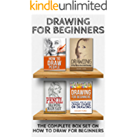 Drawing for Beginners: Complete Box Set on How to Draw for Beginners (Drawing for Beginners, How to Draw,Learn How to Draw Cool Stuff,Ultimate Crash Course,Guide to Drawing Boxset Book 5)