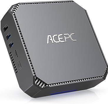 8GB RAM 128GB ROM Intel Celeron N3350 Micro Desktop Computer with HDMI /& VGA Ports,Support 4K HD,Bluetooth 4.2 /& 2.4G//5.0G Dual Band WiFi ACEPC Mini PC Windows 10 Pro