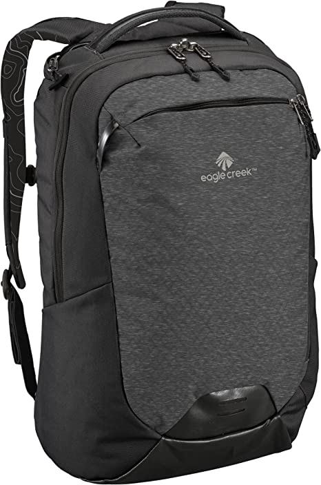 Eagle Creek Laptop Rucksack Wayfinder Backpack mit Rückensystem für Frauen, 30 L Rucksack, 50 cm, 30 Liter, BlackCharcoal