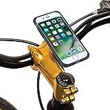 TiGRA Sport スマホホルダー 自転車 バイク スマホスタンド スマートフォンホルダー iPhone8 iPhone7 MountCase for iPhone 8/7【簡単2タッチで着脱】