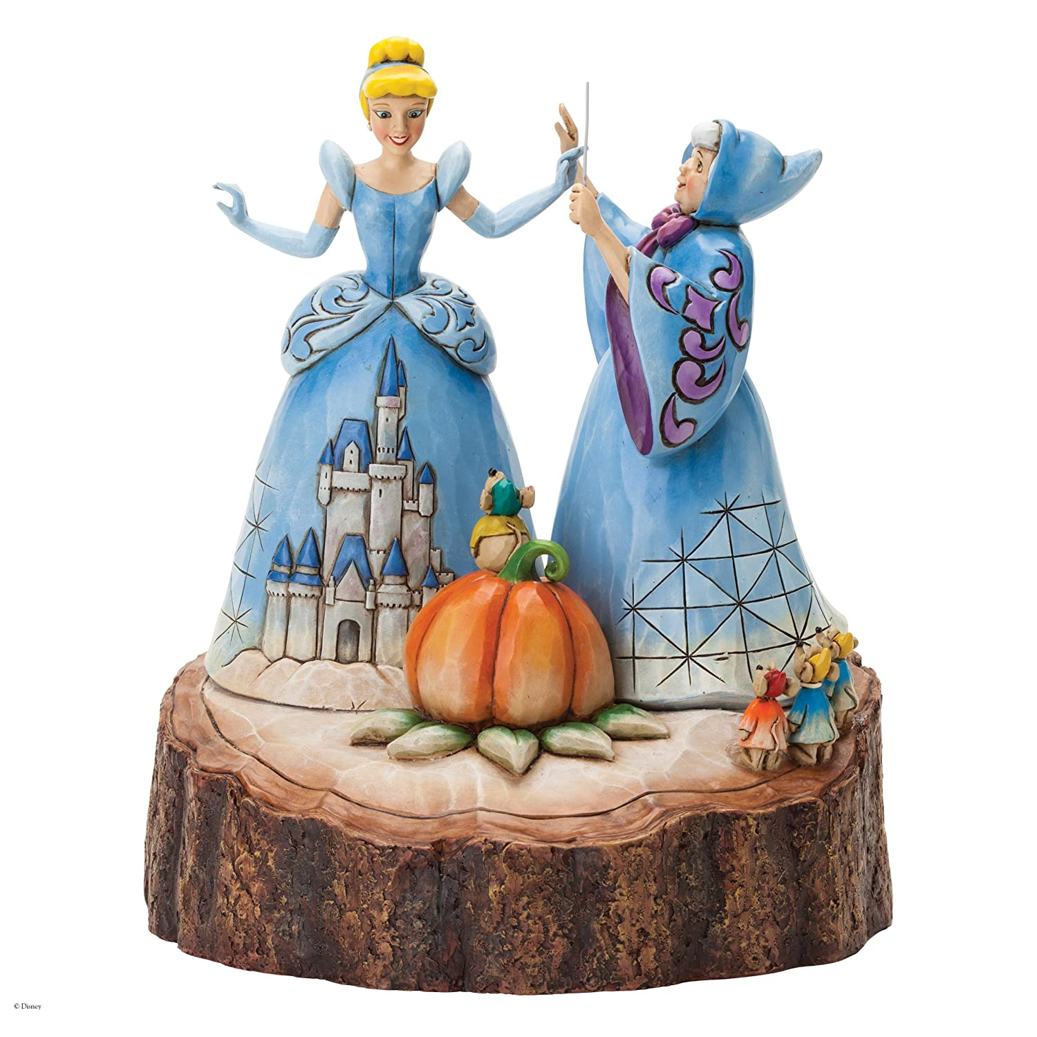 Disney Traditions Magical Transformation Carved by Heart Cinderella ...
