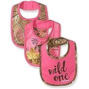 Carhartt Baby Baby 3 Pc Bib Gift Set, Realtree Xtra Camo, ONE SIZE