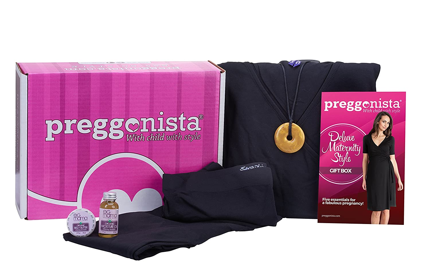 Preggonista 5-Piece Deluxe Maternity Style Gift Box 86347200021902