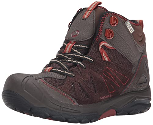 c5966268c12 Merrell Capra Mid Waterproof Hiking Boot (Toddler/Little Kid/Big Kid)