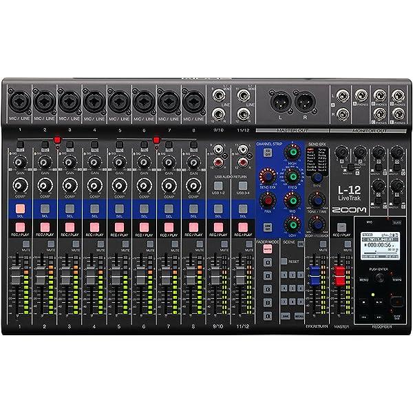 Zoom L de 12/GE mesa de mezclas: Amazon.es: Instrumentos musicales