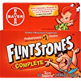 Flintstones Children's Complete Chewable Multivitamin, 60 Count
