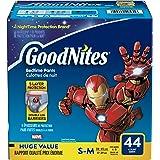 GoodNites Bedtime Pants for Boys, Size Small-Medium