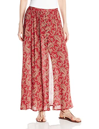 fe5970511 Angie Women's Printed Maxi Skirt at Amazon Women's Clothing store: