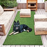 Sweethome Meadowland Collection Indoor and Outdoor Green Artificial Grass Turf