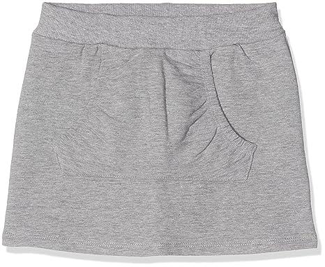 NAME IT Nitvoltafe BRU Swe Skirt Mini, Falda para Bebés, Gris ...