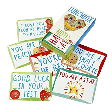 1d2e9ca981d1 Amazon.com: Talking Tables Notes of Love for Lunchbox, Multicolor ...