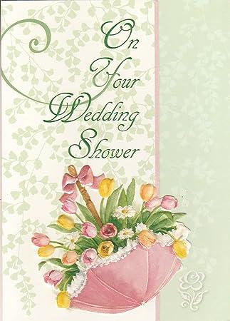 Amazon.com: Carol Wilson tarjeta de felicitación boda ducha ...