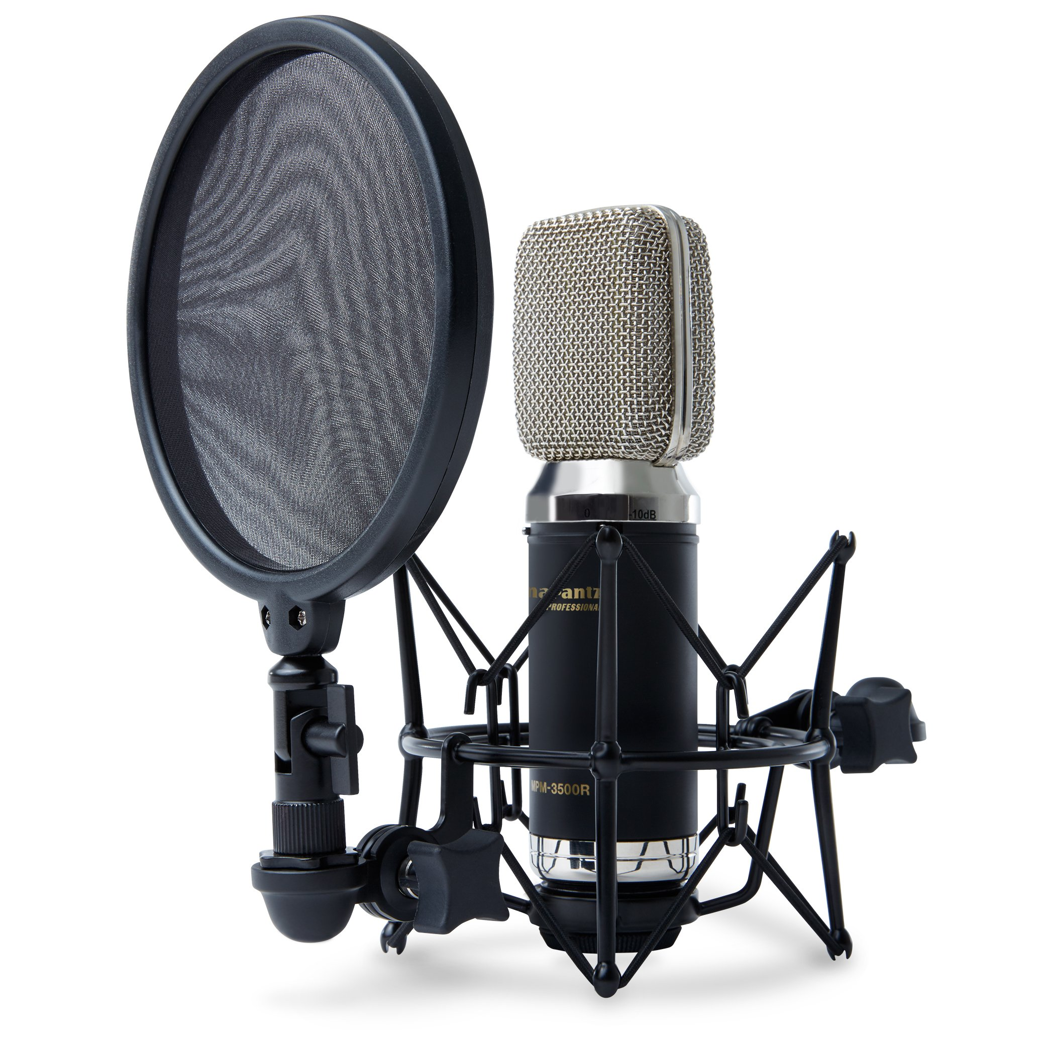 Marantz Professional MPM-3500R | Ribbon Microphone with Low-Mass Diaphragm and High Sound-Pressure Tolerance (XLR Out) by Marantz Professional (Image #1)