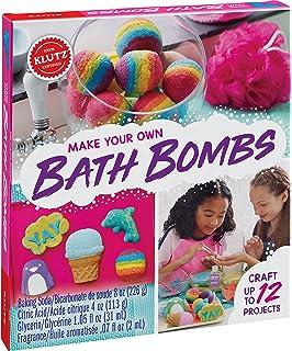 Amazon stmt by horizon group usa diy bath bomb kit do it klutz make your own bath bombs arts and craft kit solutioingenieria Choice Image