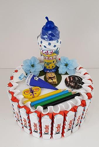 Schultute Zuckertute Kinderschokolade Torte Fur Jungen Geschenk