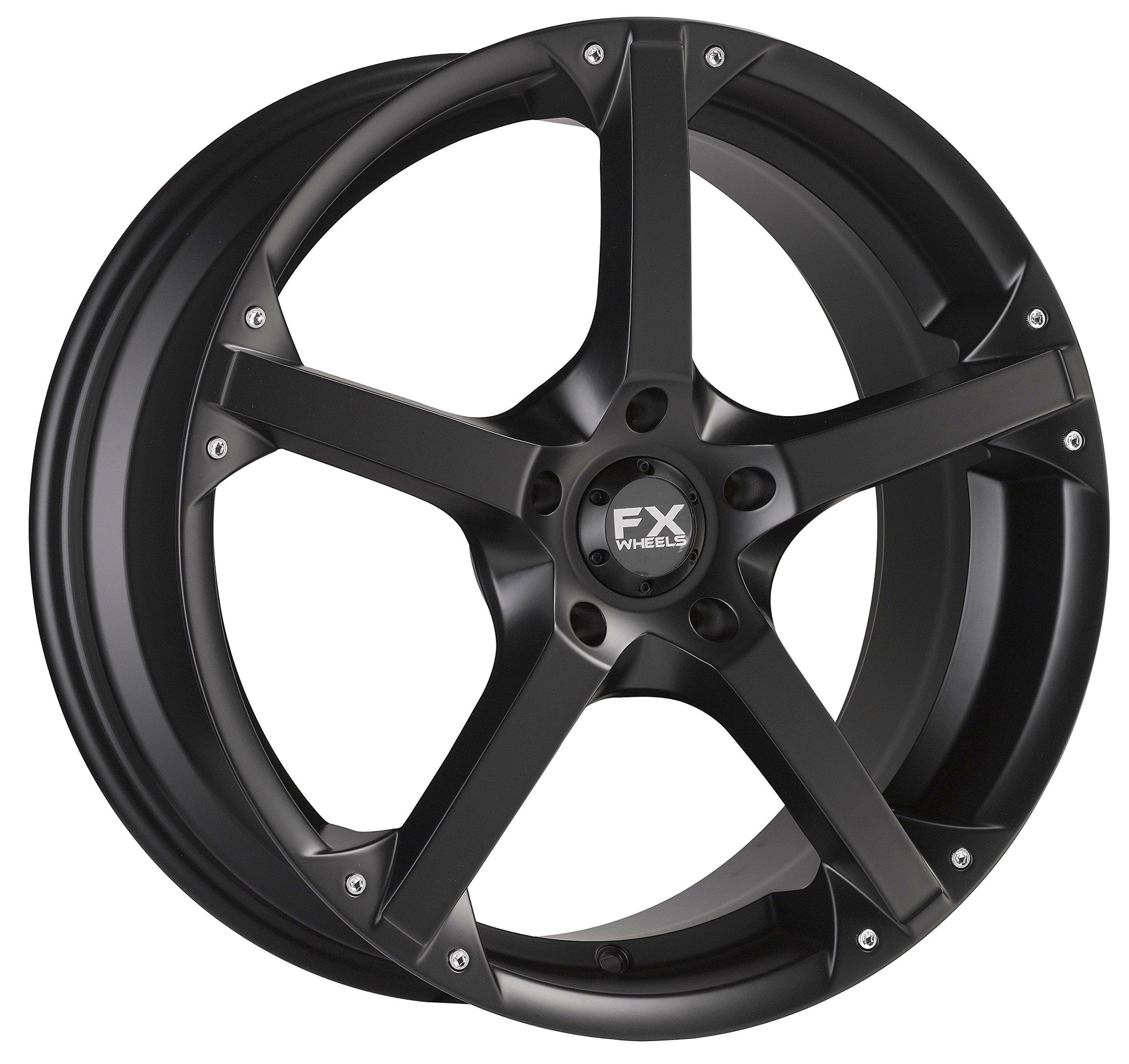FX10 18X8 5X114.3 Black