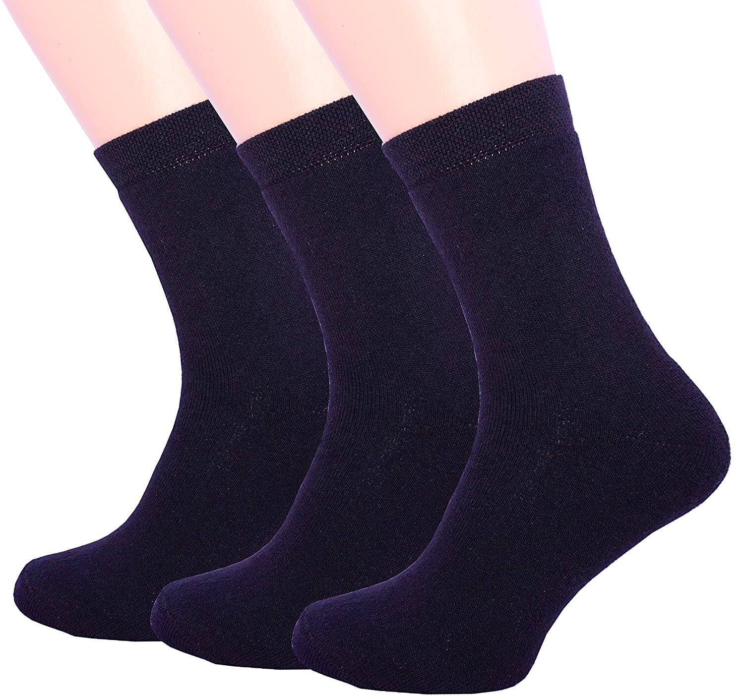 Mens Socks for Winter 3 Pair Warm Thermal Socks Pack Crew For Cold Weather winter dress socks