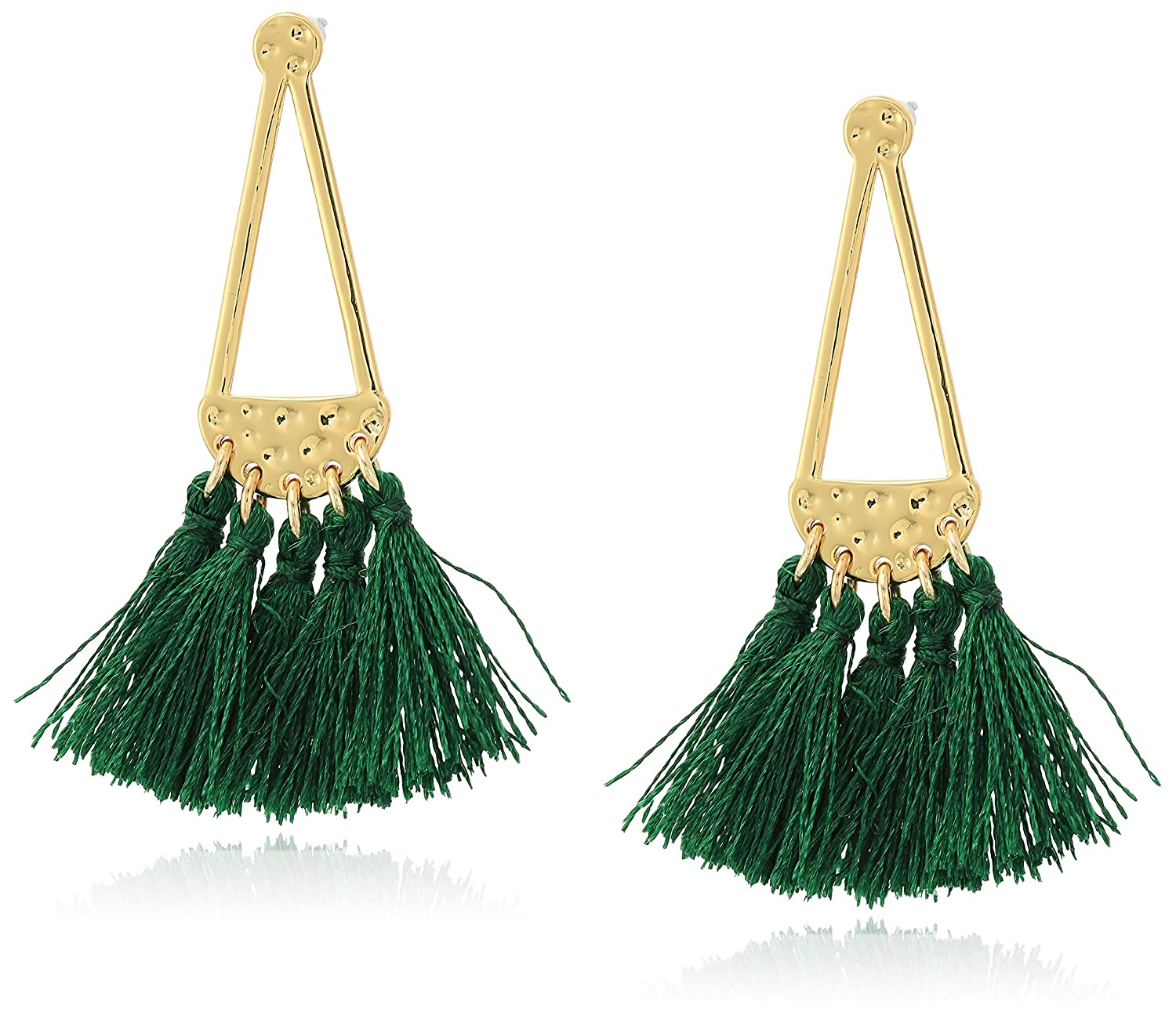 Rebecca Minkoff Geo Tassel Chandeliers Drop Earrings E23126R2