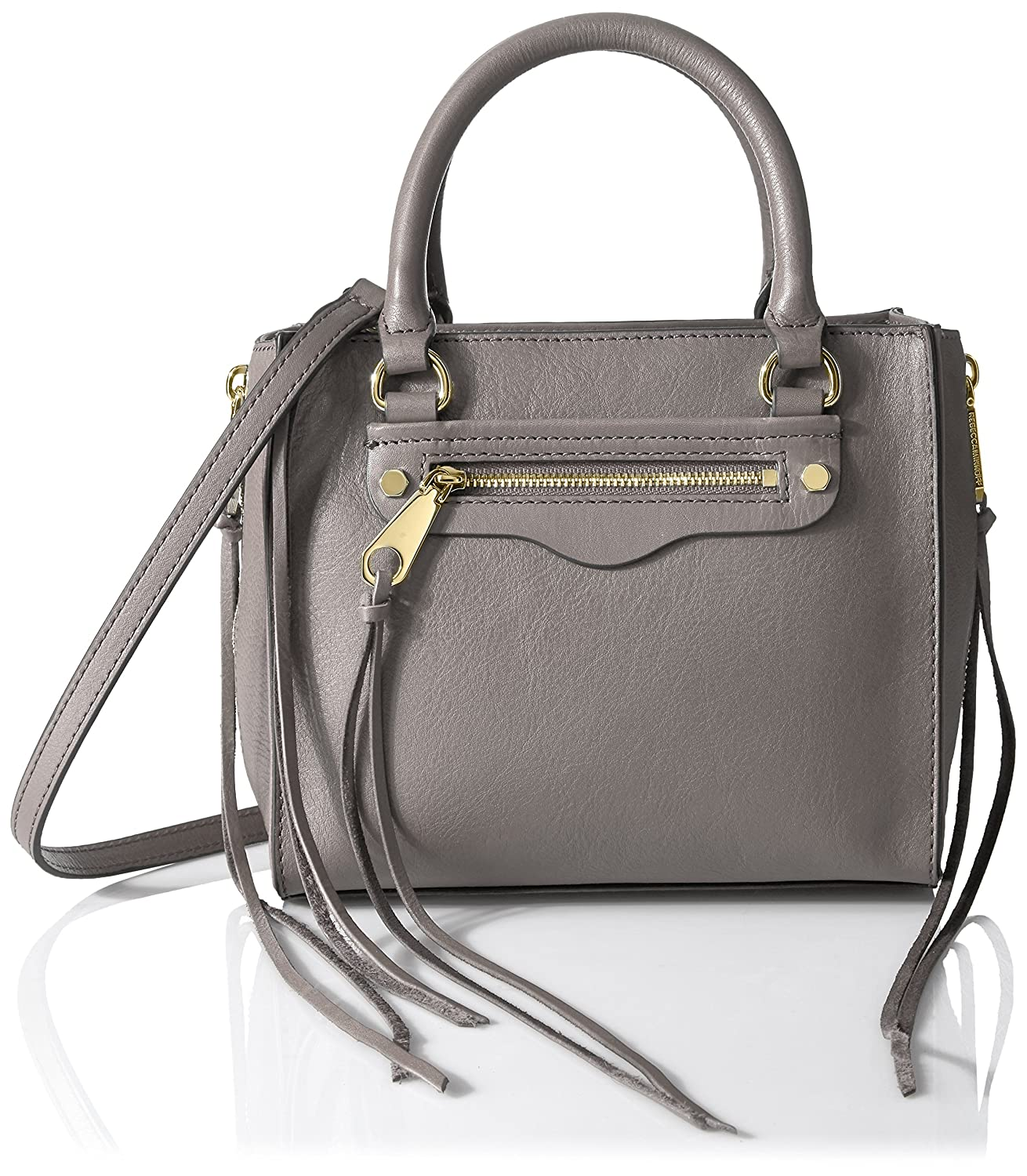 Rebecca Minkoff Side Zip Mini Regan Tote Mushroom HR26ISZX58