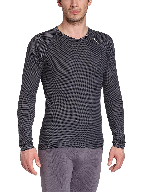 Odlo Herren Shirt Long Sleeve Crew Neck Cubic