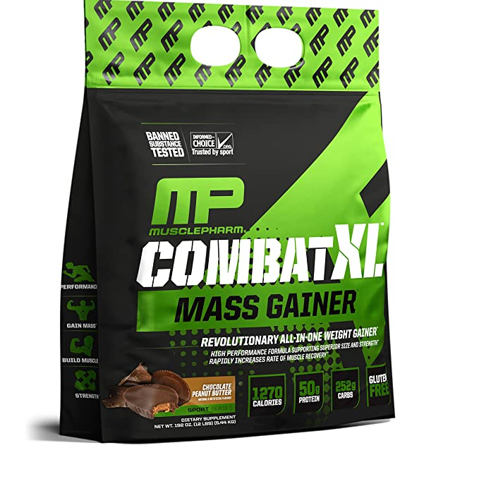 Musclepharm Combat XL Mass Gainer Sport Series Chocolate ...