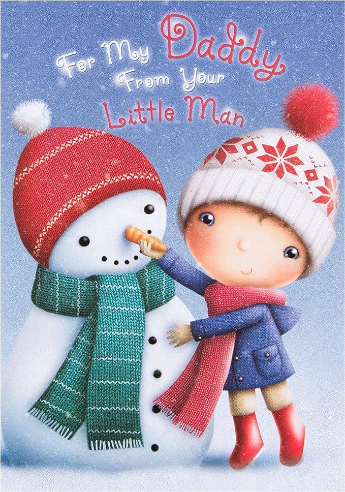 Medium dad Hallmark Christmas Greeting Card To Daddy /'Extra Specially Nice/'
