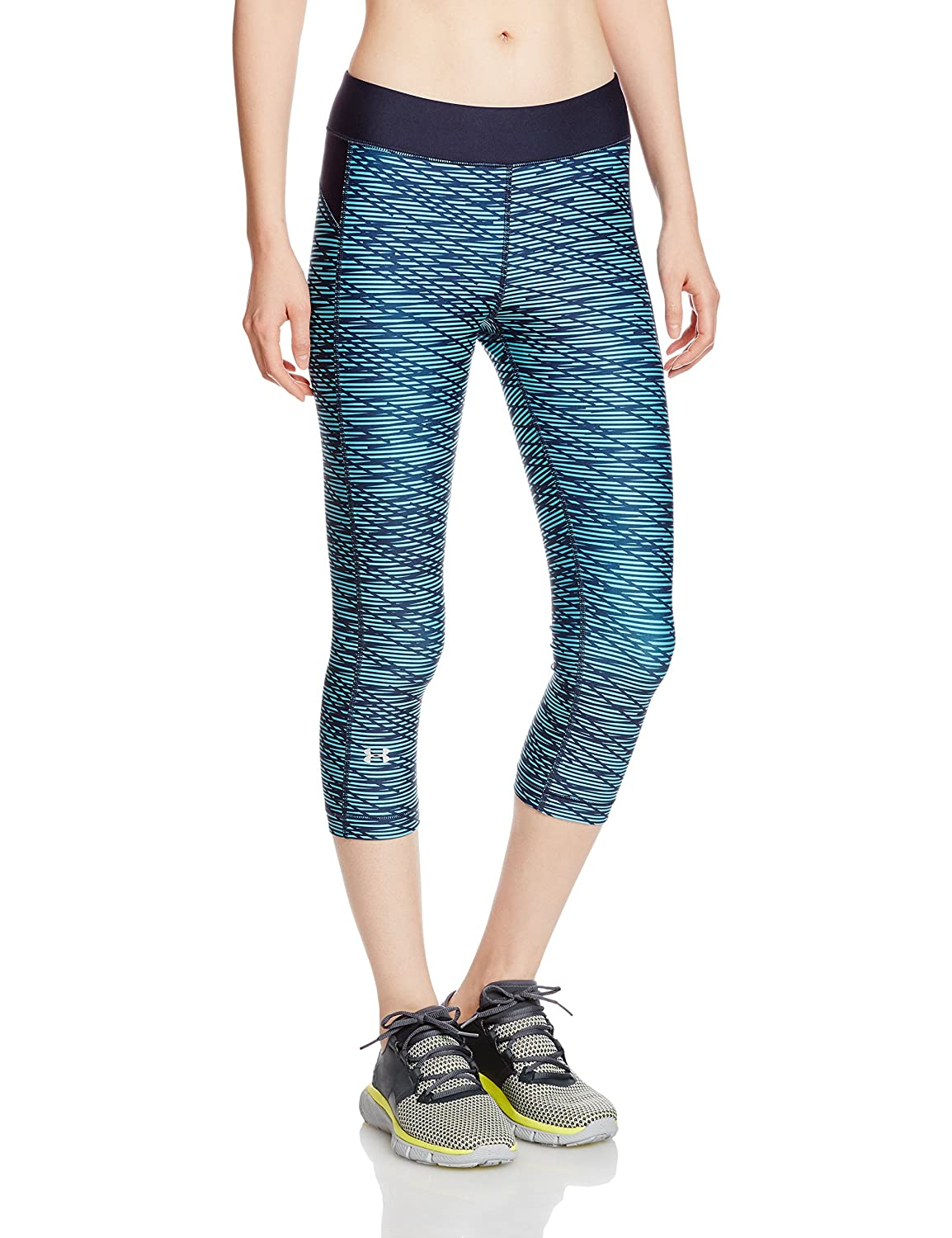 Under Armour Women's HeatGear Armour Printed Capri Under Armour Apparel 1297906