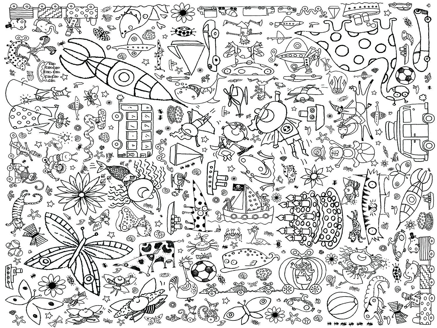 EggNogg Colour-in Durable White Paper Tablecloth 37.5-Inch by 50-Inch, Teatime, 2 Tablecloths