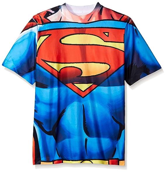 b79c705c58 Amazon.com  Superman Big Boys  Short Sleeve Raglan T-Shirt Shirt ...