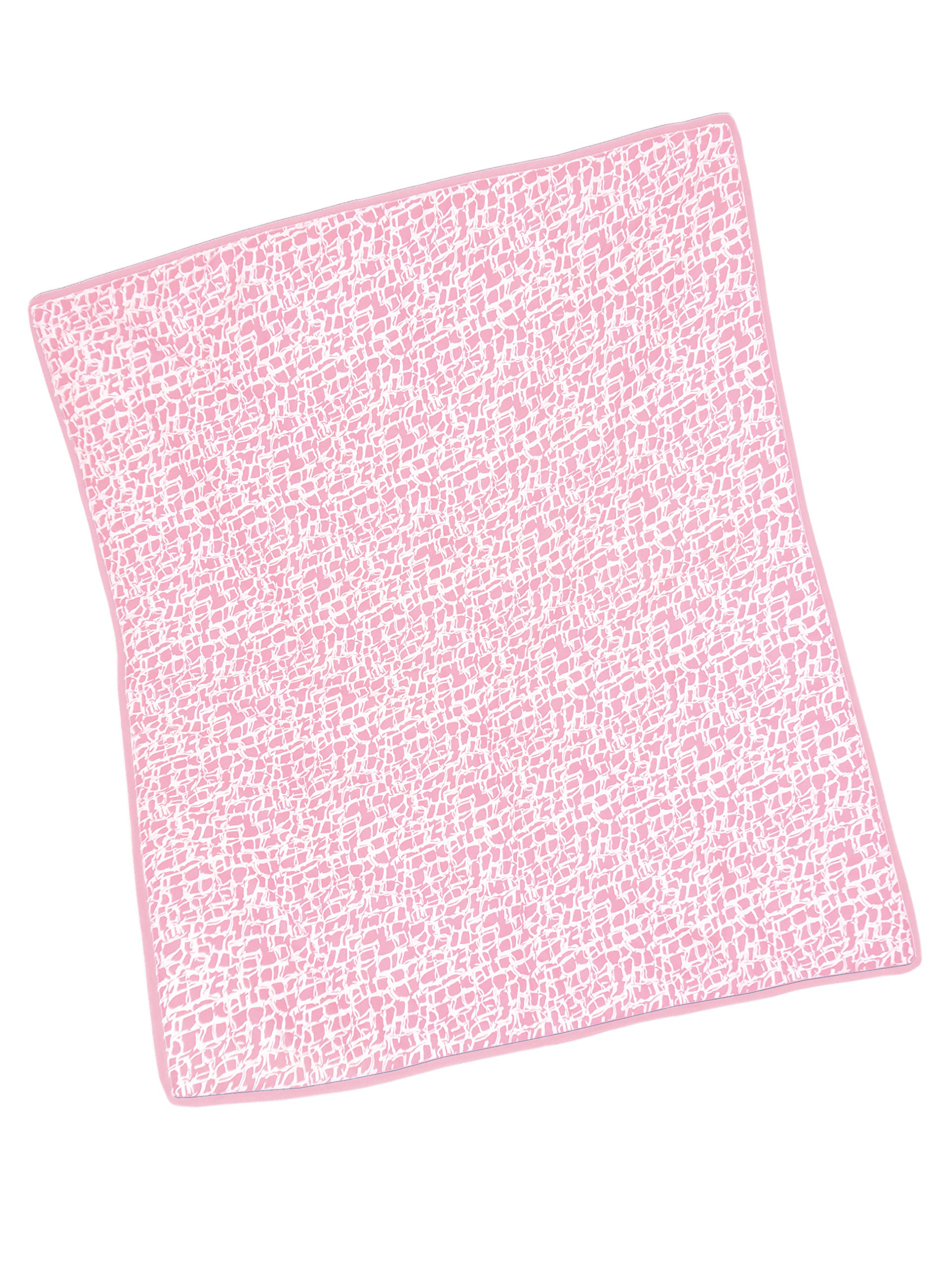 Baby Doll Bedding Cobblestone Crib Comforter, Pink