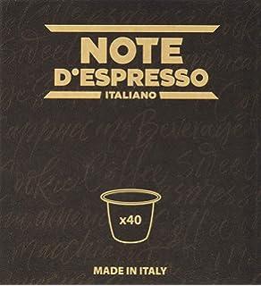 Note DEspresso Cápsulas de Café Intenso exclusivamente ...