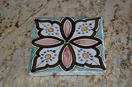 Compra Posavasos Decorativo de cerámica Pintado a Mano en España en Amazon.es